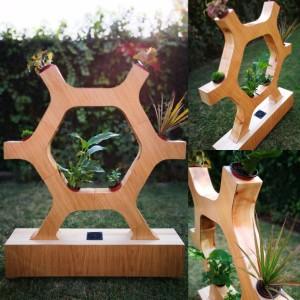 Y-Bio en madera